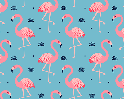 Wunder Flamingo - Kids Suede Yoga Mat (4MM) - Sugarmat