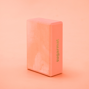 Yoga Block - Pink - Sugarmat