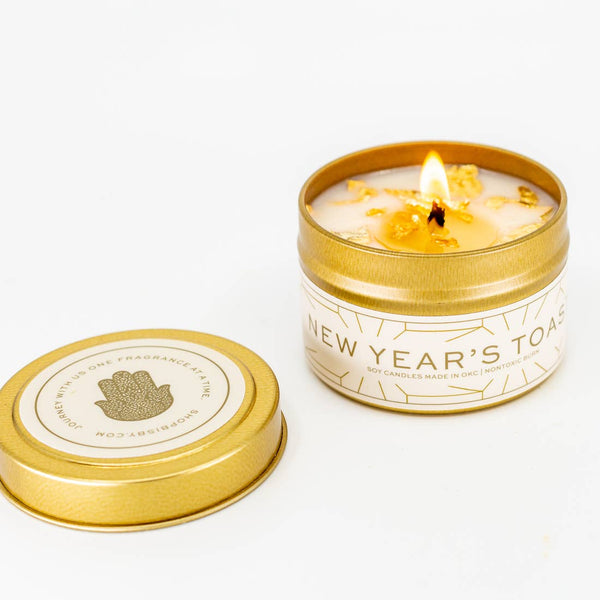 NEW YEAR'S TOAST CANDLE