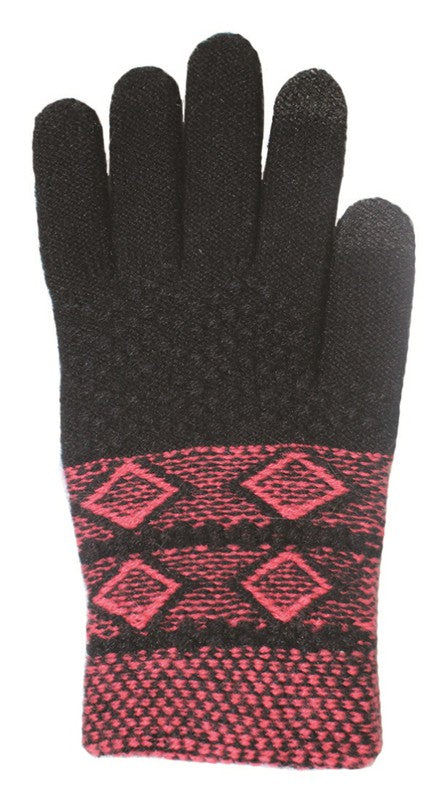 DIAMOND TEXTING GLOVES
