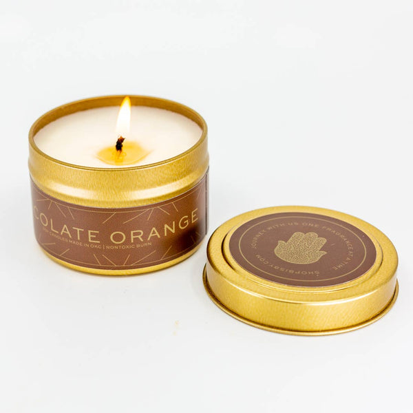 CHOCOLATE ORANGE CANDLE