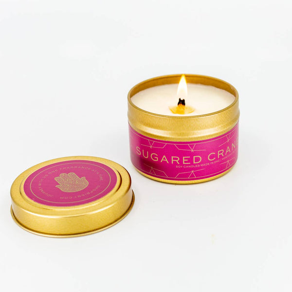 SUGARED CRANBERRY CANDLE