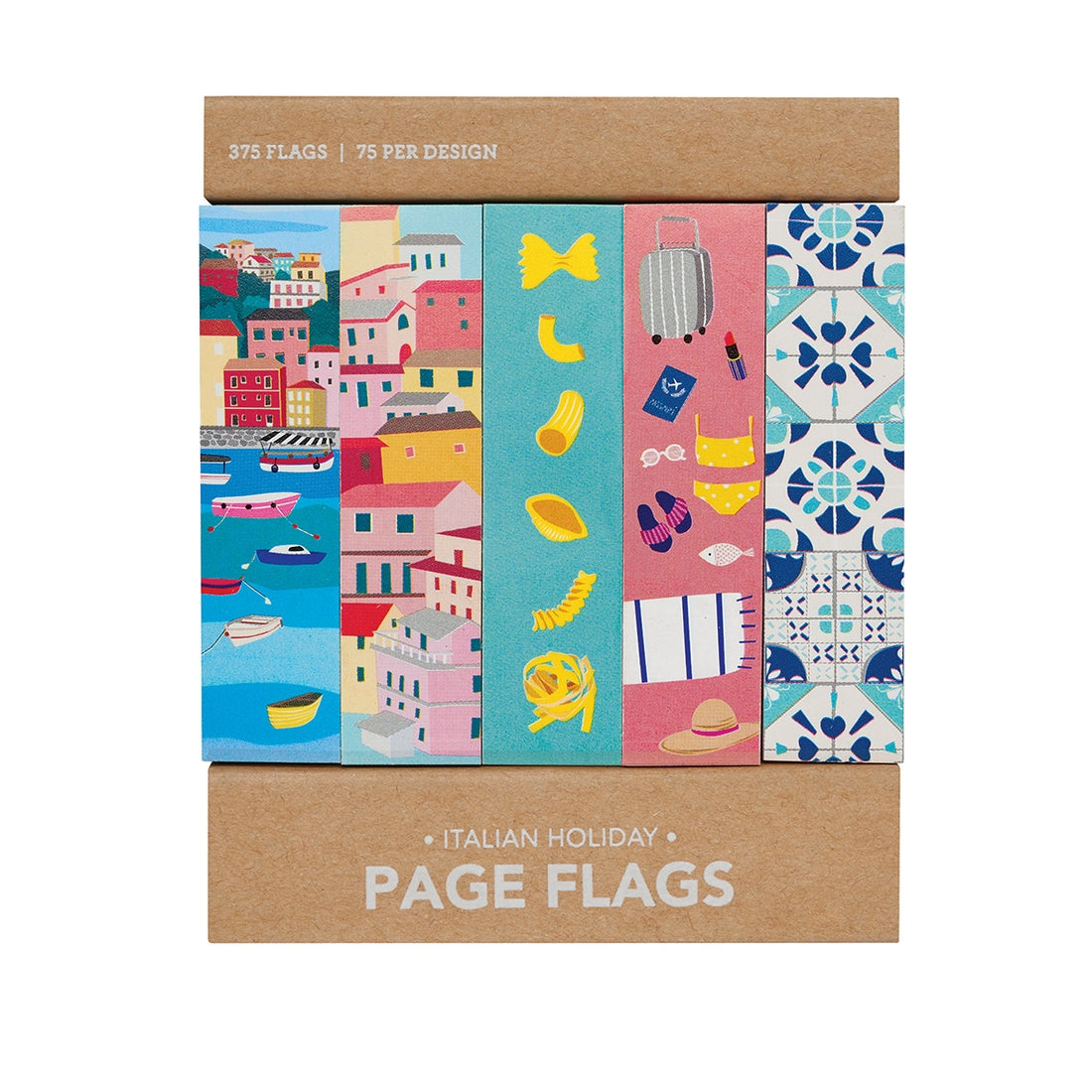 ITALIAN HOLIDAY PAGE FLAGS