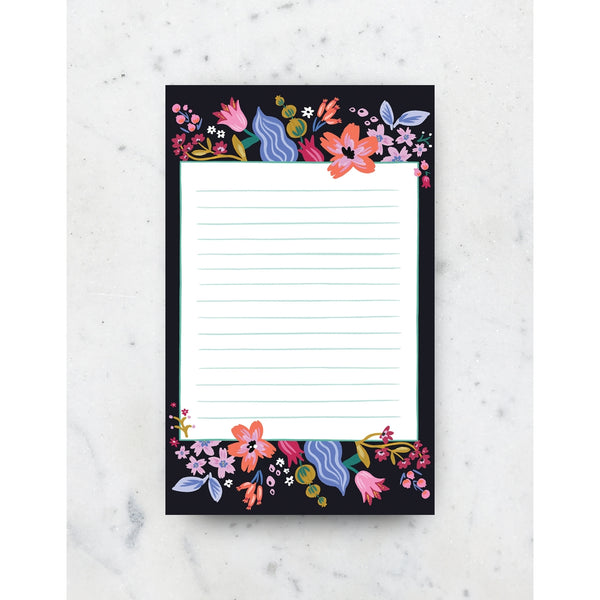 CORAL FLOWER NOTEPAD