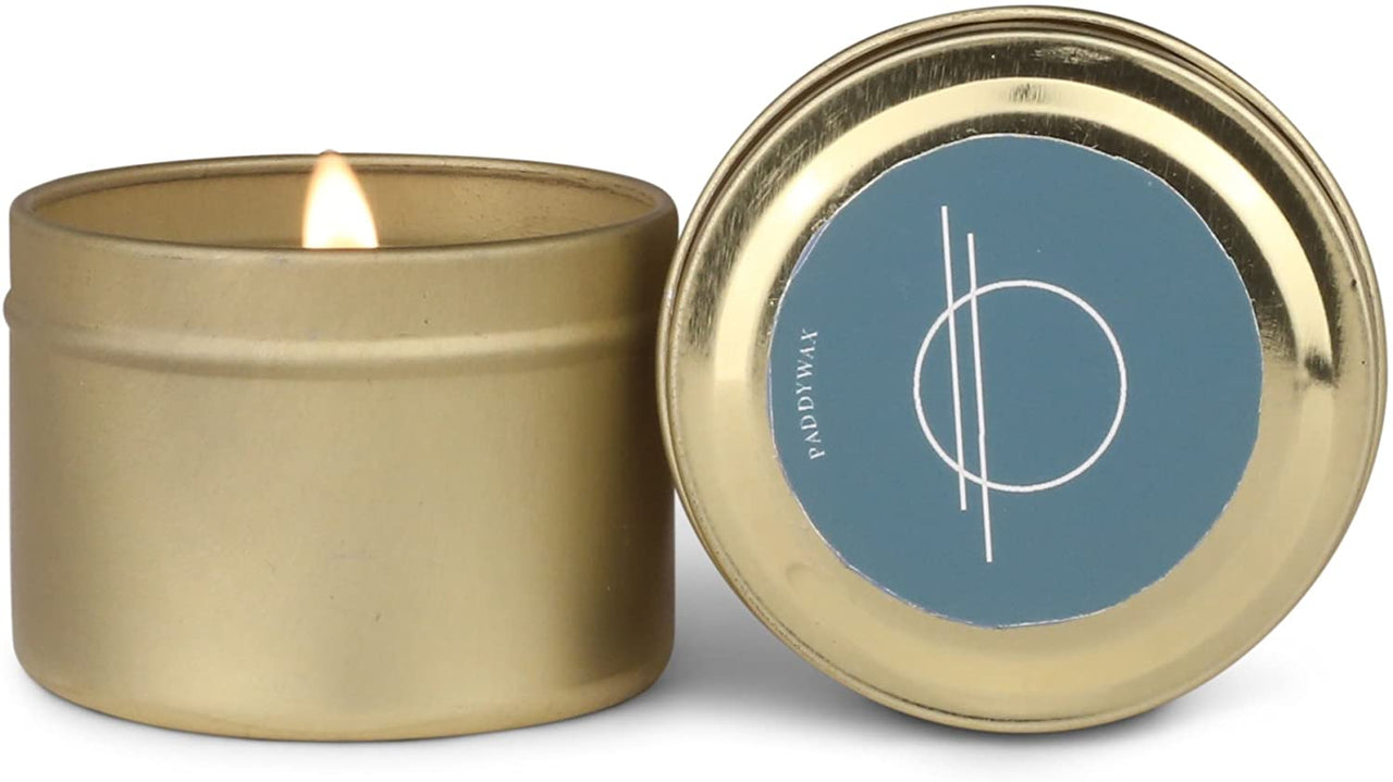 ELEMENT 2 OZ. GOLD TIN CANDLE