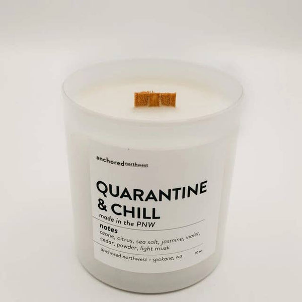 QUARANTINE & CHILL CANDLE