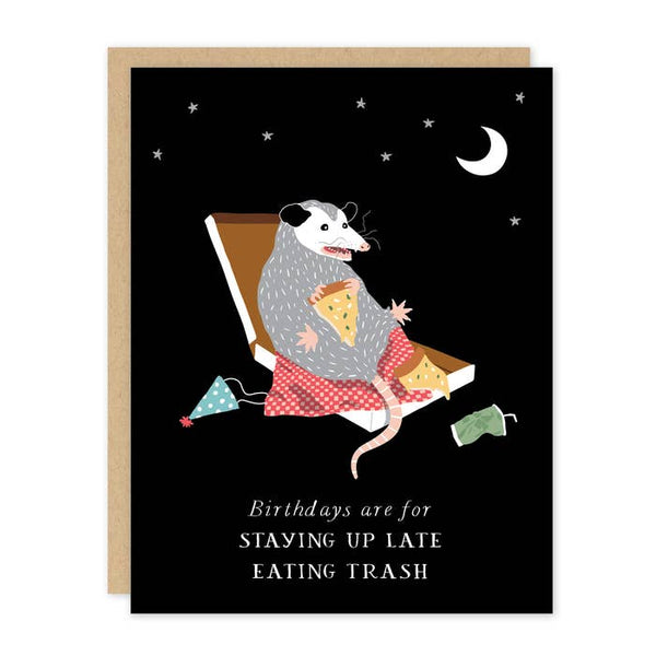 BIRTHDAY POSSUM CARD
