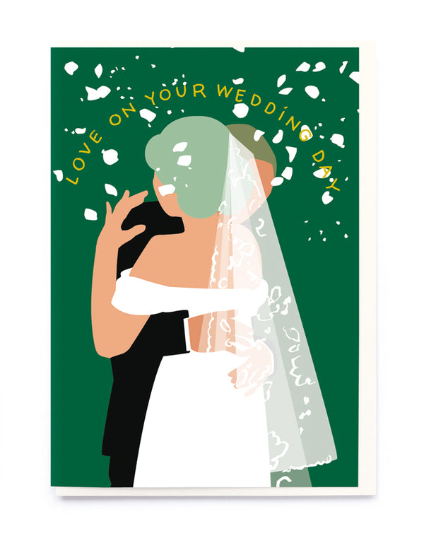 LOVE ON YOUR WEDDING DAY CARD