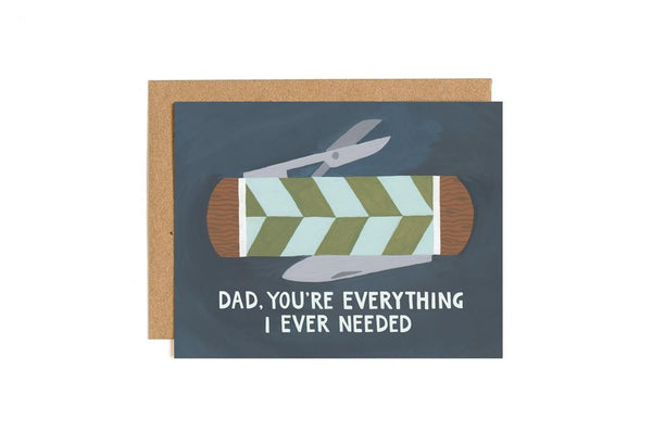 DAD POCKETKNIFE CARD