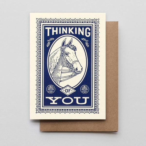 THINKING OF YOU HORSE CARD