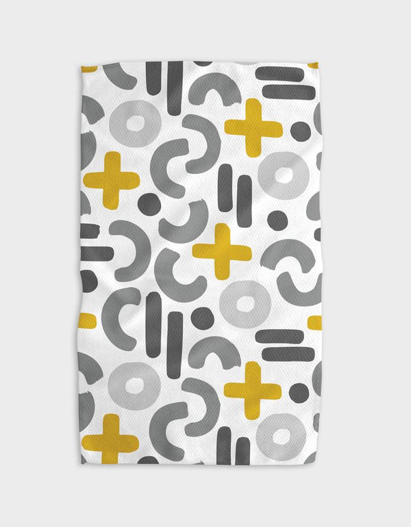 EQUATIONS TEA TOWEL