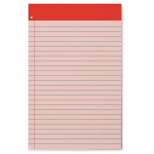 RED HEART LINED GRID PAD