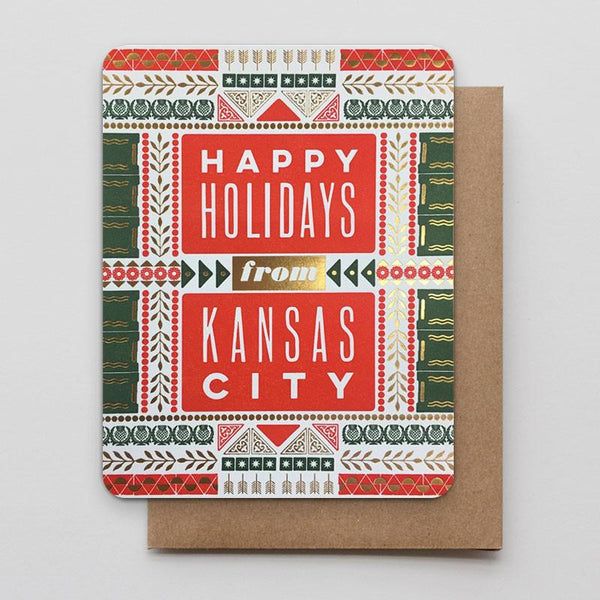 HAPPY HOLIDAYS FROM KANSAS CITY CARD