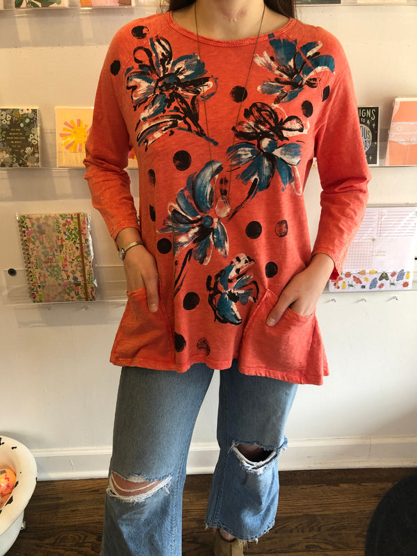 FREESIA TUNIC TOP
