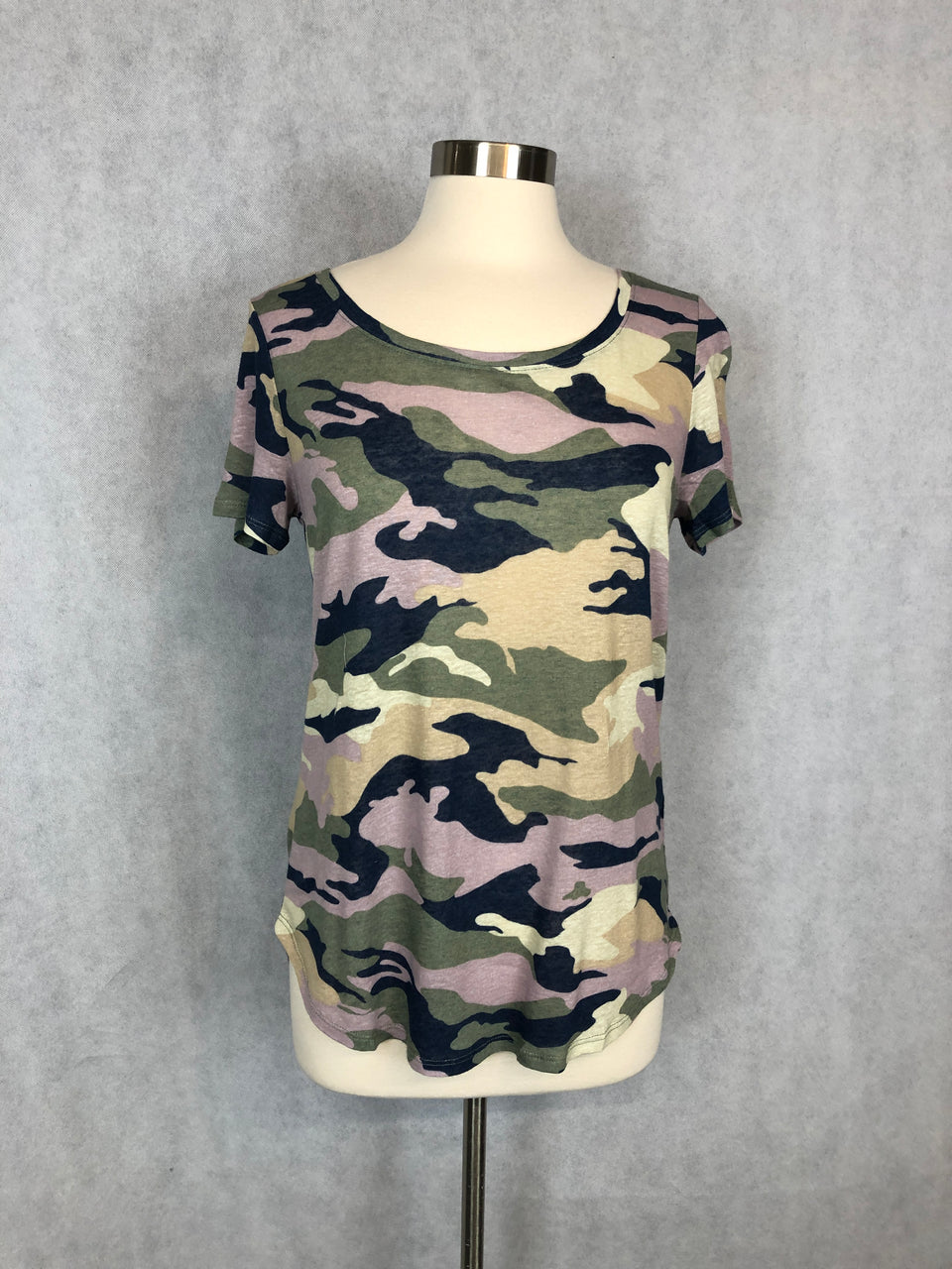 NO AMMO FOR THIS CAMO TEE