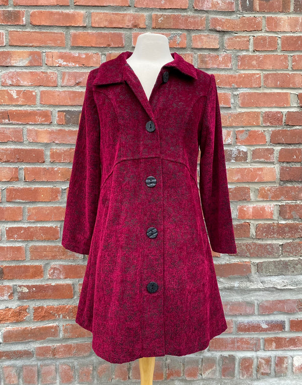CHENILLE TAPESTRY CAR COAT
