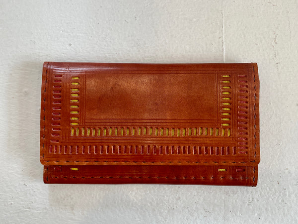 PUNCH LEATHER WALLET