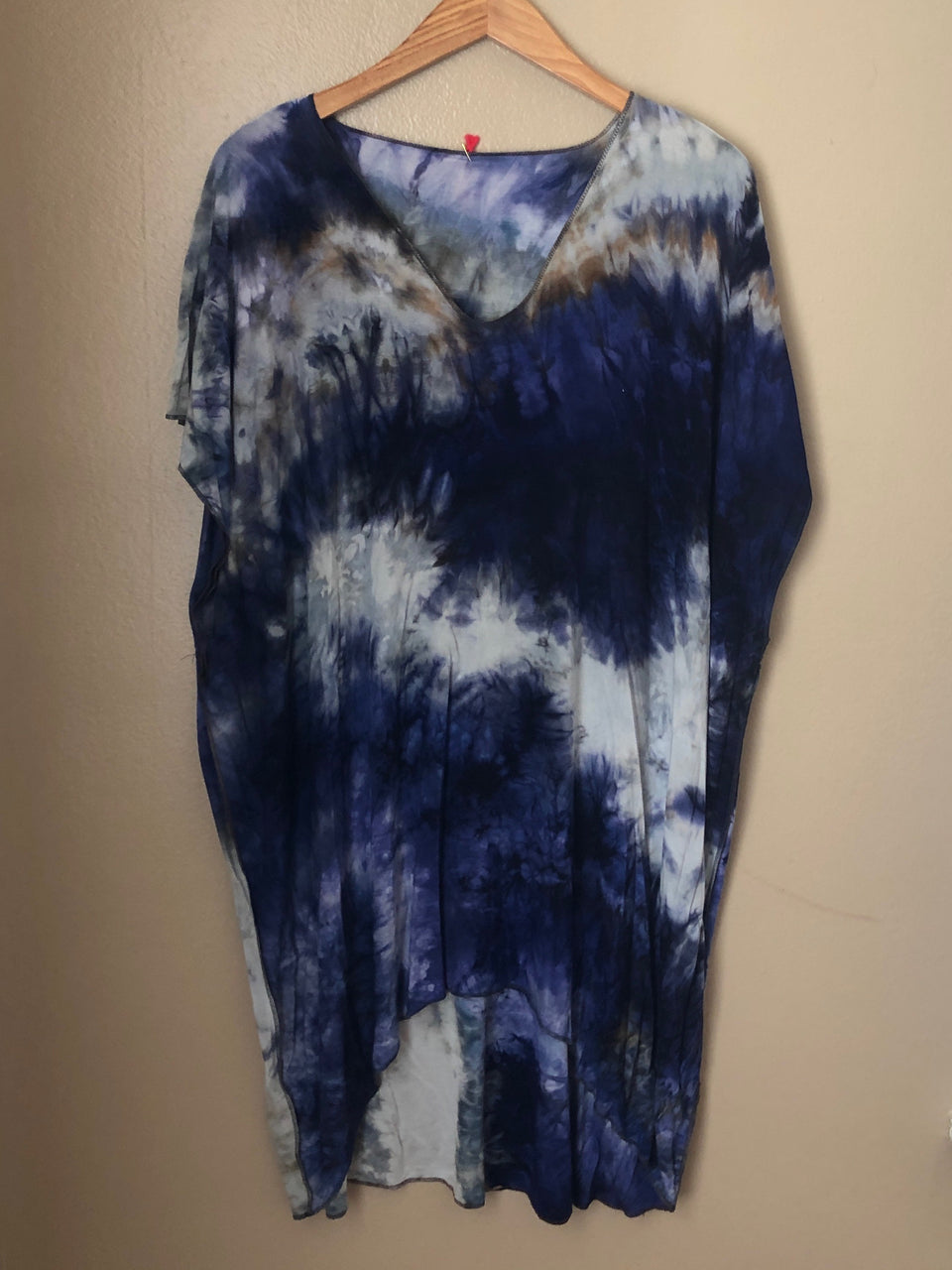 HAND DYED ONE-OF-A- KIND TUNIC
