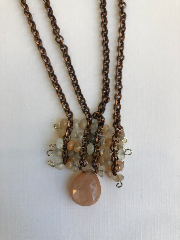 COPPER WEAVE NECKLACE