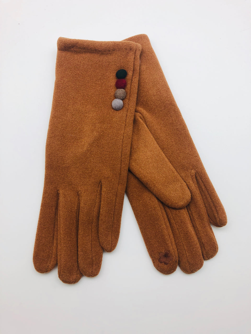 MULTI BUTTON DECO SMART GLOVES