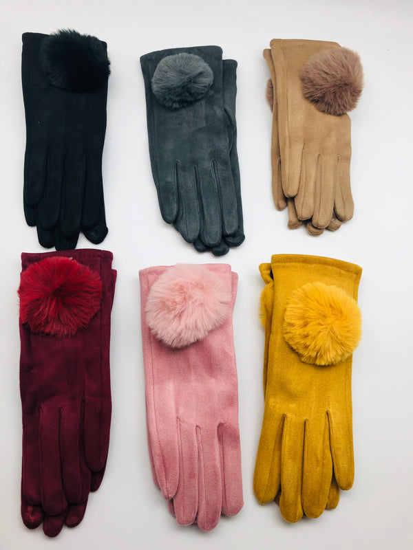 GIANT POM GLOVES