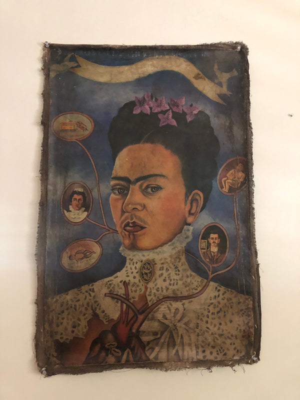 FRIDA OIL PAINTING