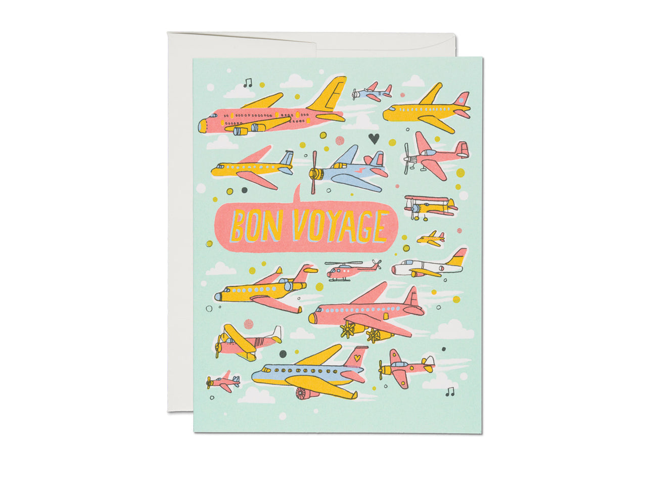 AIRPLANES PANTONE EVERYDAY CARD