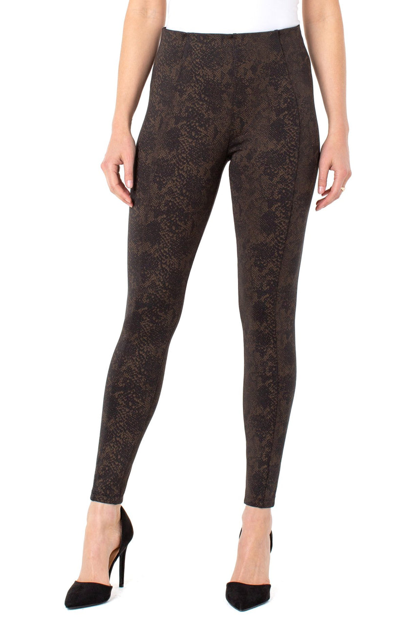 REESE ANKLE LEGGING IN COPPER PYTHON