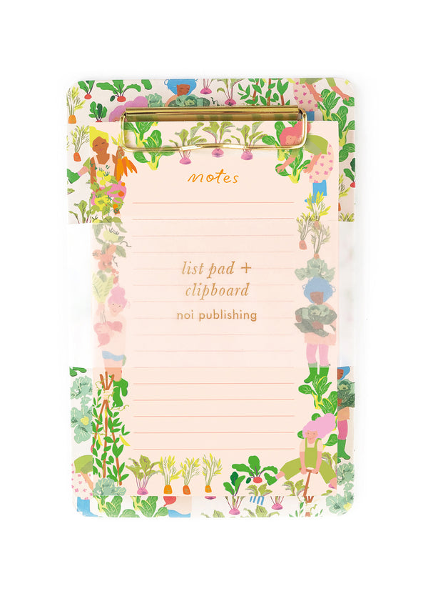 VEGETABLE CLIPBOARD & LIST
