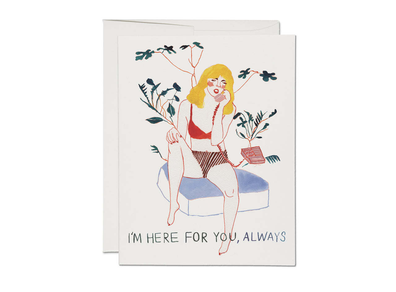 PHONE CALL FRIENDSHIP CARD