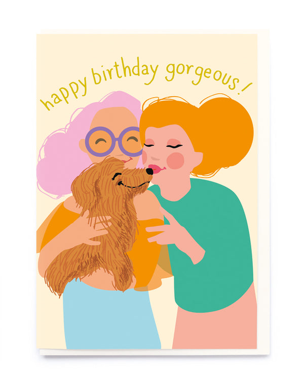DOGGIE KISSES CARD