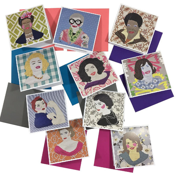 WOMEN WE LOVE NOTE CARDS (PACK OF 10)