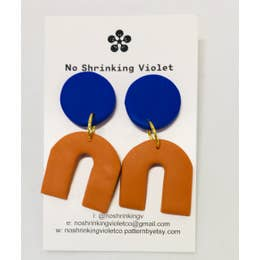 ARCHES COLOR POP EARRINGS