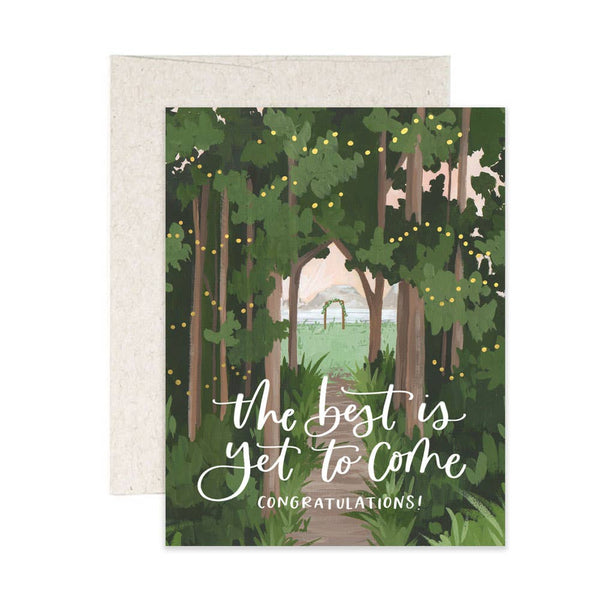 WEDDING WOODS CARD