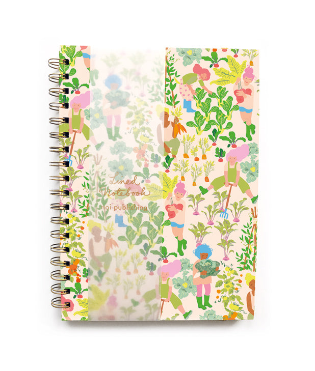 WE LOVE OUR VEGETABLES NOTEBOOK