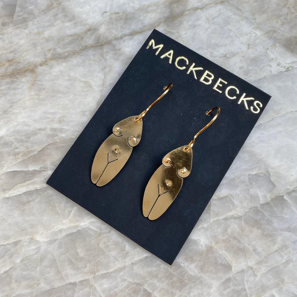 BRASSY BABES EARRINGS