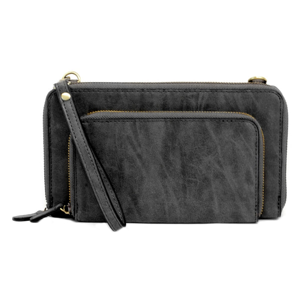 BRUSHED MINI CONVERTIBLE WRISTLET