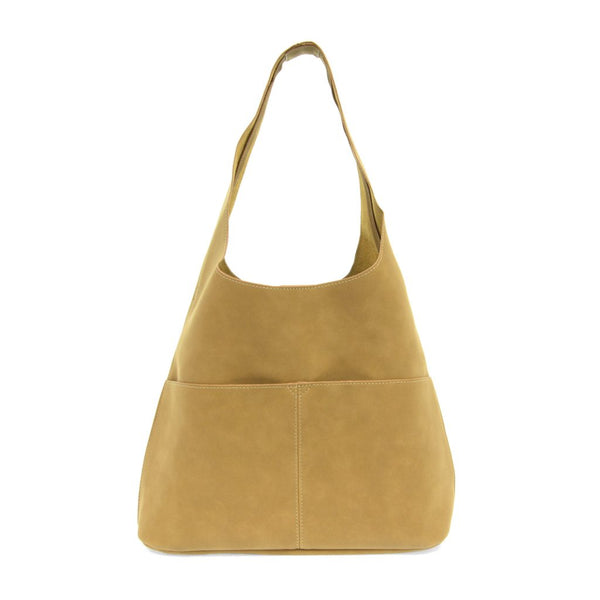 JENNY SUEDED HOBO BAG