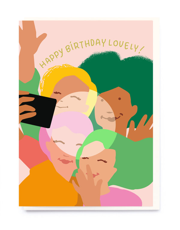 BIRTHDAY SELFIE CARD