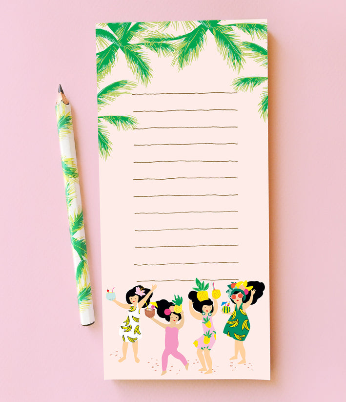 TROPICAL LADIES SHOPPING LIST