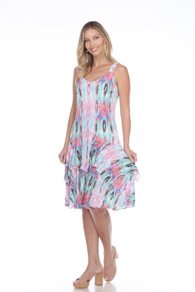 MULTI ACCENT PAIGE DRESS