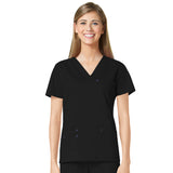 Maevn Three Pocket Fashion V-Neck Top - 1202 - Mary Avenue Scrubs  - 10