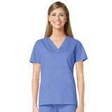 Maevn Three Pocket Fashion V-Neck Top - 1202 - Mary Avenue Scrubs  - 2