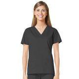 Maevn Three Pocket Fashion V-Neck Top - 1202 - Mary Avenue Scrubs  - 9