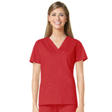 Maevn Three Pocket Fashion V-Neck Top - 1202 - Mary Avenue Scrubs  - 11