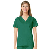 Maevn Three Pocket Fashion V-Neck Top - 1202 - Mary Avenue Scrubs  - 4