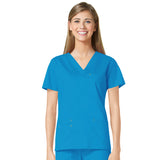 Maevn Three Pocket Fashion V-Neck Top - 1202 - Mary Avenue Scrubs  - 3