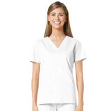 Maevn Three Pocket Fashion V-Neck Top - 1202 - Mary Avenue Scrubs  - 1