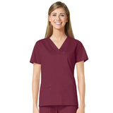 Maevn Three Pocket Fashion V-Neck Top - 1202 - Mary Avenue Scrubs  - 7