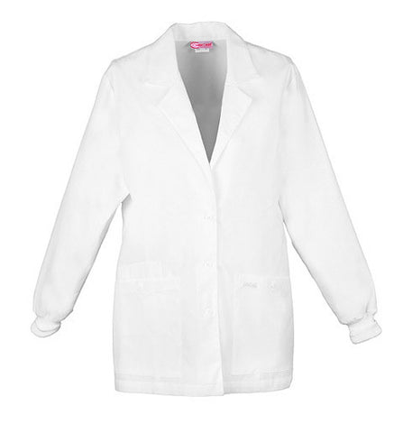 "Cherokee 30"" Knit Cuff Lab Coat - 1302 - Mary Avenue Scrubs"